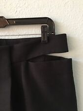 Unique Jil Sander Origami Black Cotton Skirt US Size 10 / EU 40. Made In Italy