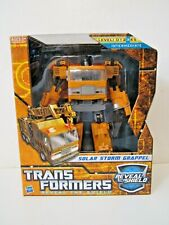 Transformers Reveal The Shield RTS Voyager Class Solar Storm Grappel Figure NIB