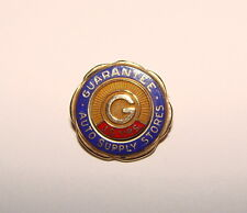 10K YELLOW GOLD RARE GUARANTEE SUPPLY AUTO STORES 10 YEAR PIN BROOCH DYER 2.8G