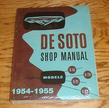 1954 1955 De Soto Service Shop Manual 54 55 S-19 S-20 S-21 S-22