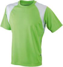 Vêtements de fitness vert taille L pour homme