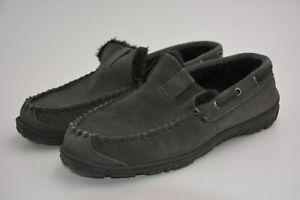 CLARKS Men's Warren Slip-on Loafer Grey US 13M Slightly Used