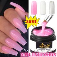 New 30ml Clear/Pink/White Builder Gel Nail Art Building Extension UV Gel Glue