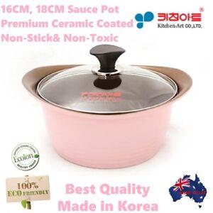 16 CM  Premium Ceramic Coated HIGH QUALITY Sauce pot Non-Stick Korea