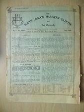 1928 RIVISTA ATLETICA LEGGERA-SUD di Londra legate Gazette & CHRONICLE-No.6, VOL. XLIV