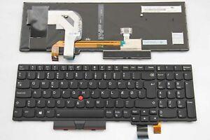 Danish Norwegian Nordic Keyboard for Lenovo ThinkPad T570 T580 P51s P52s Backlit
