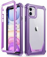 Poetic for Apple iPhone 11 Case Hybrid Armor Bumper Shockproof Cover Purple