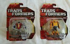 Hasbro Transformers set of 2 action figures NIB