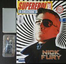Supereroi Classic Marvel Collezione Ufficiale Fabbri Eaglemoss Nick Fury 27 ITA