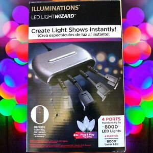 LED Light Wizard Create Instant Light Shows with up to 8,000 Lights Illumination