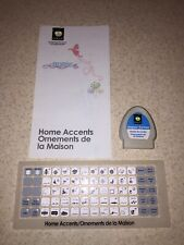 Cricut Solutions Cartridge Home Accents Shapes & Forms No Box