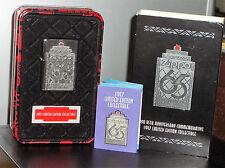 Zippo 1997  Limited EditionCollectible  Zippo 65th Feuerzeug Sammlerstück*+OVP