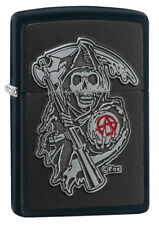 Zippo Sons of Anarchy EMBLEM Reapers Curse 60003607 SOA NEU+OVP