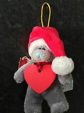 "CHLOE - NEW BNWT ME TO YOU 4"" SOFT PLUSH BEAR XMAS TREE HANGING DECORATION"