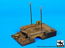Blackdog Models 1/72 DESTROYED BRIDGE Resin Display Base