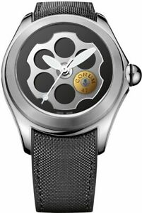 New Corum Bubble 47 Titanium Limited Edition Men's Watch 407.101.04/0601 BA01