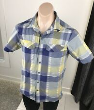 COLUMBIA Shirt Mens Short Sleeve Hiking Casual Top Small Omni Dry [MT1]