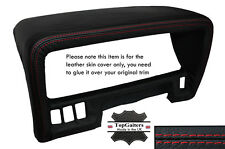 RED STITCHING SPEEDO HOOD TRIM LEATHER SKIN COVER FITS NISSAN PATROL Y60