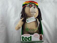 Ted the Movie Talking Bear Plush Rastafarian Soft Toy