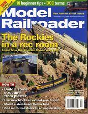 Model Railroader December 2011 The Rockies in a rec room