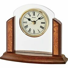 Seiko Wooden Mantel Clock   QXG148Z-NEW