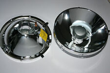 FOR PORSCHE 911 930 964 965 H4 SET OEM HEADLIGHT REFLECTORS BRAND NEW
