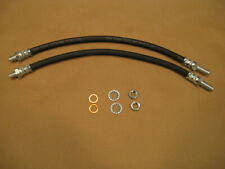 Mg new Oe Front Brake Lines Hoses Set w/hdwr Mgb 1963-80
