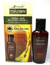 Moringa O2 Malunggay Herbal Hair Relaxing Serum Anti Frizz Argan Oil 55ml
