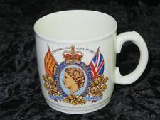 Collectable China Coronation Mug Queen Elizabeth II 2nd June 1953 MYOTT