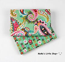Beautiful Vera Bradley 100% Cotton Fabric(Tutti Frutti)——2 Matching Fat Quarters
