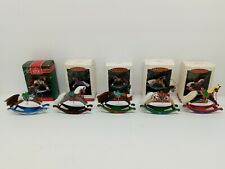 New ListingHallmark Keepsake Ornaments Miniature Rocking Horses Set Of 5 1992-1996