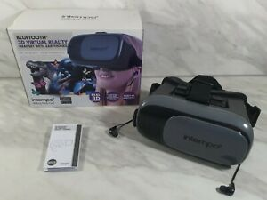 Intempo Bluetooth Virtual Reality Headset + Earbuds EE2226 Excellent Condition