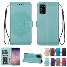For Samsung Note20 S20 FE Ultra S10 S9 S8 Plus A51 A71 Case Leather Wallet Cover