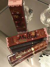 Genuine Too Faced  GINGERBREAD GIRL Melted Matte Liquid Lipstick-Limited Edition