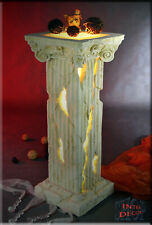 Leuchtsäule Säule Blumensäule Deko Ständer Griechische Lampe Säulen Stuckgips