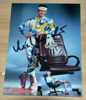 39938 Photo Ak Autographe Mark Kirchner Unique Et Série Albertville 1992