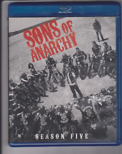 Sons of Anarchy: Season 5 (Blu-ray, 2013, 3-Disc Set)