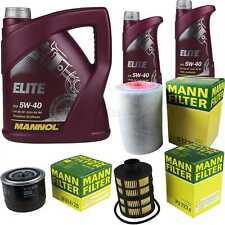 Aceite de Motor 7L Mannol Elite 5W-40 + Mann-Filter Fiat Ducato Bus 250 120