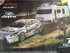 Nissan Motorsport Altima Todd Kelly Signed Poster 2015 Jayco Nismo