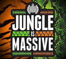 Jungle is Massive  - Ministry of Sound - New 3CD Album
