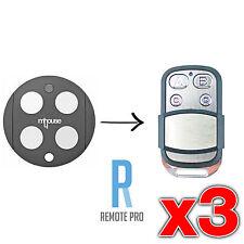 3 x Mhouse/MyHouse Door Gate Remote Control Compatible GTX4 G TX4 433.92mhz