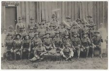 1916 Fort McGrath, Batangas, Philippines  REAL PHOTO Military Soldier Music Band