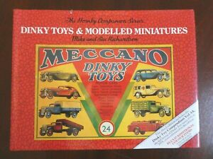 DINKY TOYS & MODELLED MINIATURES REFERENCE CATALOGUE VOL 4 VGC M & S RICHARDSON