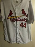 Vintage Jason Isringhausen St. Louis Cardinals #44 SGA MLB Baseball Jersey Sz XL