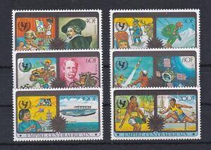 7971 Zentral-Afrika606-11  postfrisch  (582)