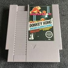 Jeu Nintendo NES Donkey Kong Arcade Classics Series FRA Très Bon état