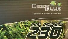 "SolarMax HE 30"" Double T5 230 Lunar Aquarium Strip Dual Light 4x Moonlight 42530"
