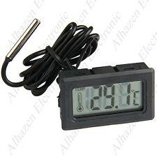 Termómetro digital De temperatura refrigerador -50 ºC hasta +110 ºC con Sonda
