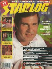 Starlog n°39 Octobere 1980