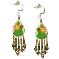Wanderlust Cactus Flower Pierced Earrings *Handmade in Peru*